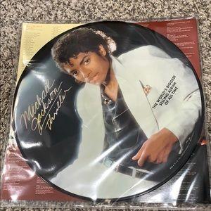 Michael Jackson Thriller Vinyl Record! 🧡
